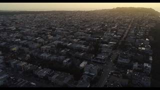 Drone San Francisco: Dusk in the Richmond District