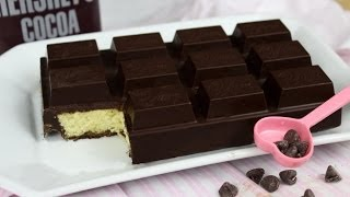 How To Make A Chocolate Bar Cake!