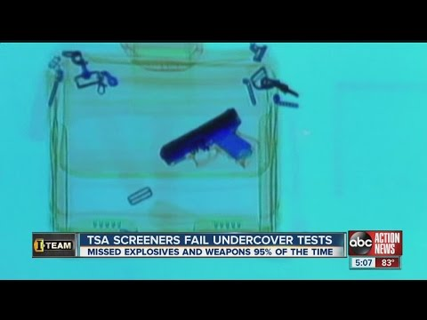 I-Team: TSA security fails most checkpoint tests