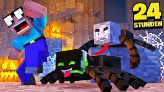 24 STUNDEN als SPINNEN TROLLEN?! - Minecraft [Deutsch/HD]