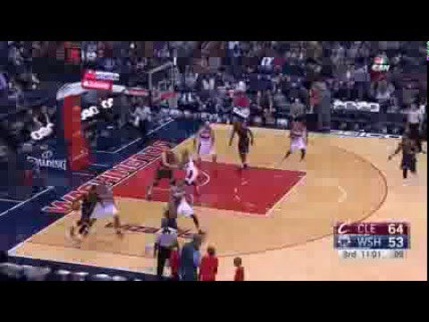 LeBron hits 4 Threes in 100 seconds vs Washington