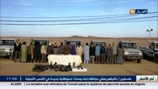 جيش: إيقاف 45 مهرب ببرج باجي مختار