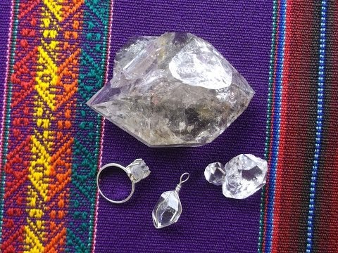 HERKIMER DIAMONDS and HOW TO USE THEM