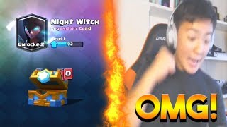 Top 5 MOST INSANE Chest Opening Reactions In Clash Royale | Best Legendary Cards Reactions #9
