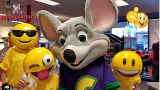 Emoji Go To Chuck E Cheese Where A Kid Can Be A Kid Family Fun Indoor Games and Activities for kids