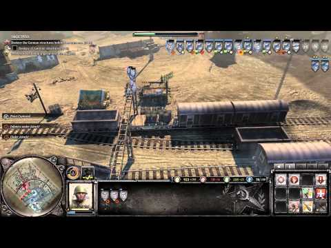 Company of Heroes 2 - Operation Barbarossa DLC - Indirect Fire - General Difficulty