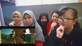 REACTION VIDEO: Abang Nak Tegur 3.0 - Aliff Syukri feat Sajat & Shahida (Official Music Video)