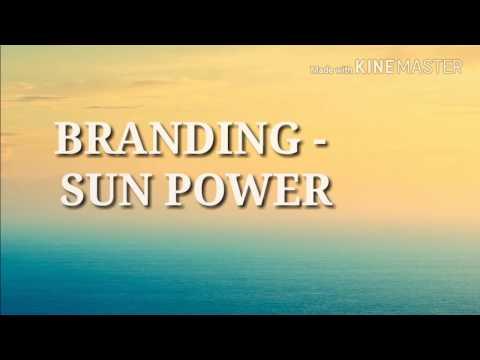 Branding   Sun Power