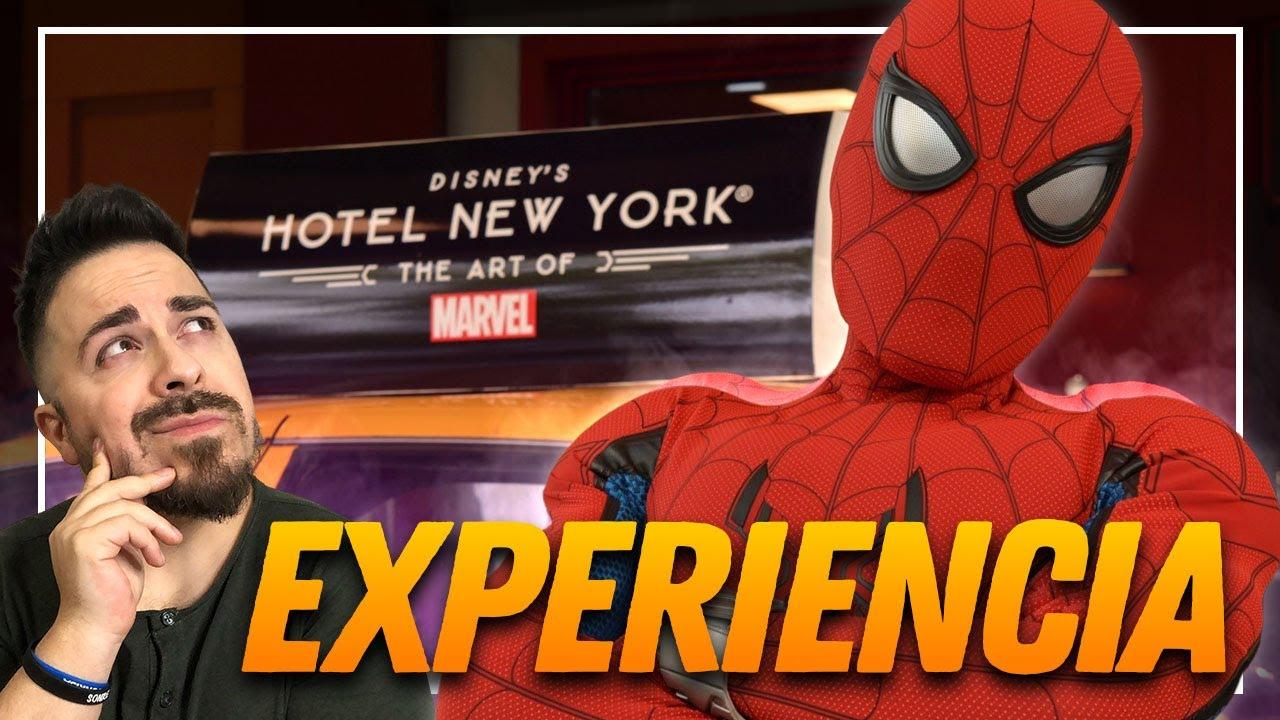 🔥Fue ÉPICO🔥 Mi experiencia en el Hotel New York: THE ART OF MARVEL en Disneyland París.