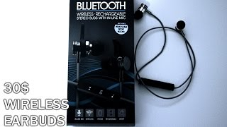$30 Wireless Earbuds?   OPINIONS
