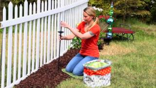 """""""Eclectic Elements"""" DIY Garden Stake System from Evergreen Garden Thumbnail"""