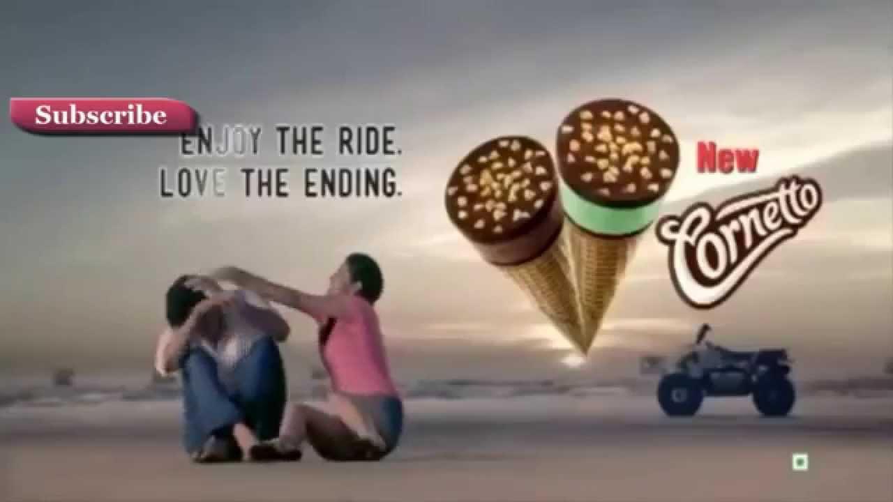 Kwality Wall`s Cornetto ICE CREAM TV AD - YouTube