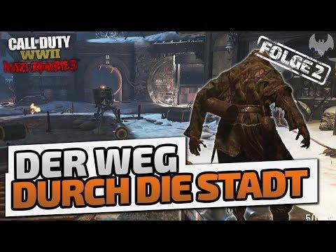 Der Weg durch die Stadt - ♠ Call of Duty: WWII Zombies ♠ - Deutsch German - Dhalucard thumbnail