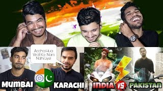 Indian Reacts To : - JUNEJO vs MSK - Pakistan vs India
