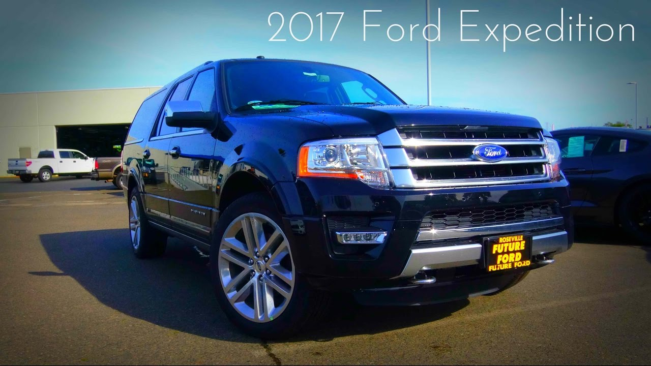 Ford Expedition El Platinum   L Twin Turbo V Review