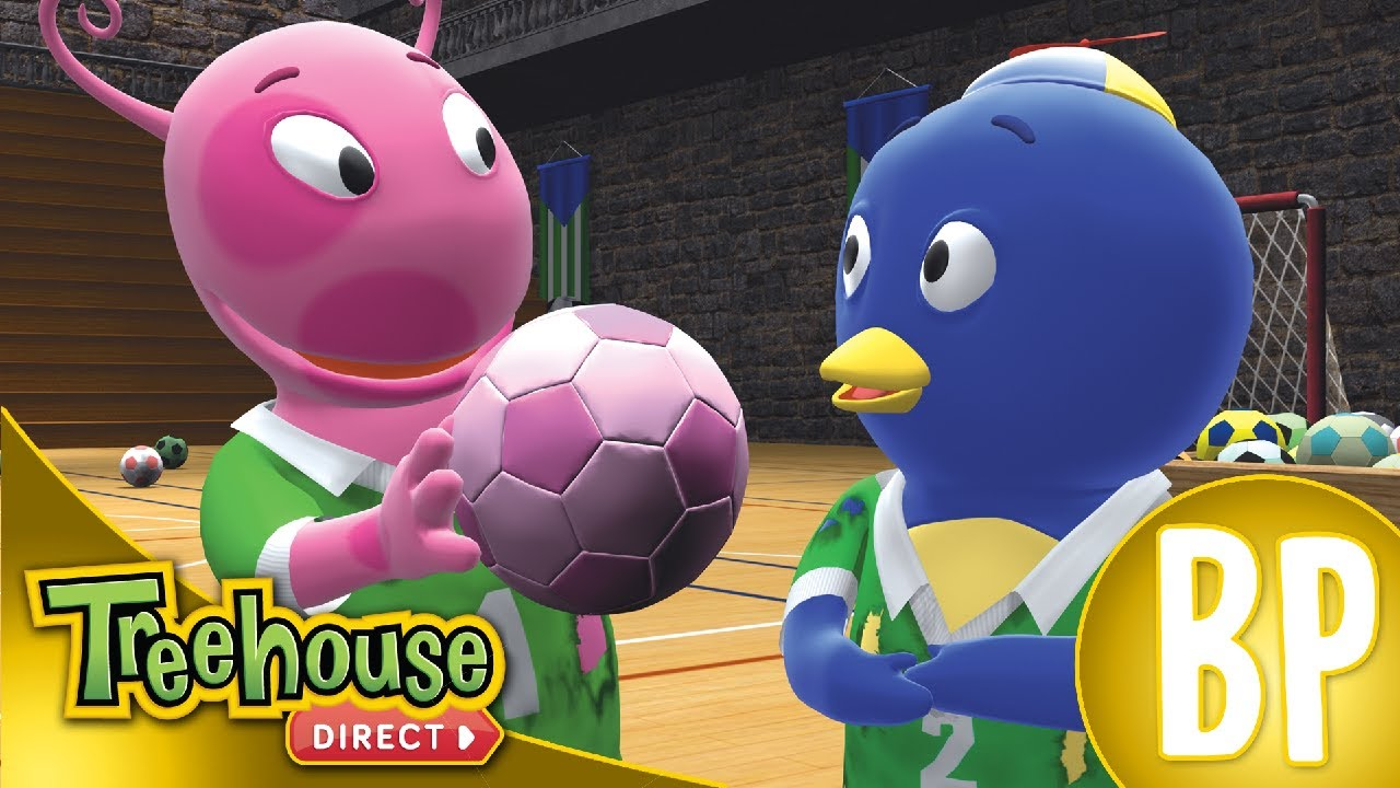 os backyardigans fera do futebol ep 18 youtube