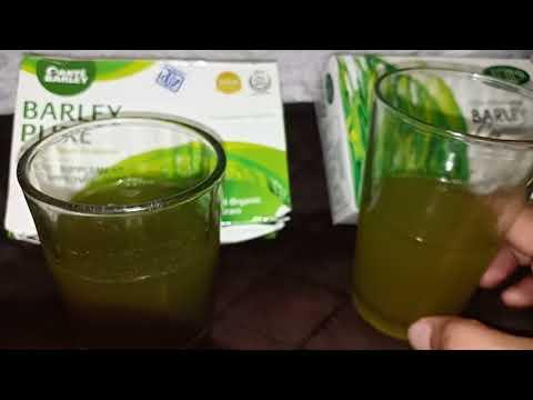 Original Sante Barley juice and capsule