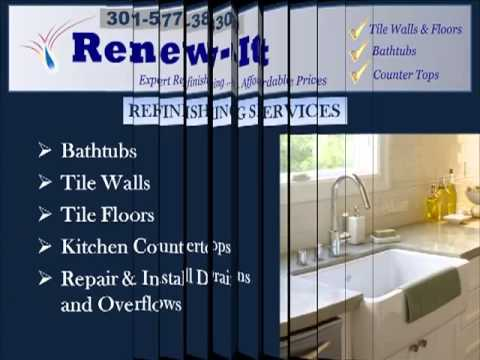 Tub, Tile and Countertop Refinishing in Maryland-Montgomery County, MD-301-577-3830