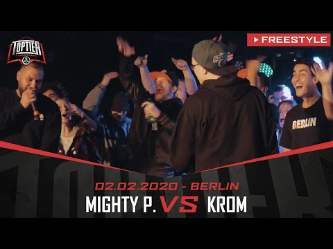 KROM vs. MIGHTY P. - Takeover Freestylemania | Berlin 02.02.20 (Finale)