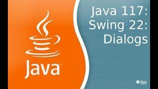 Урок по Java 117: Swing 22: Dialogs