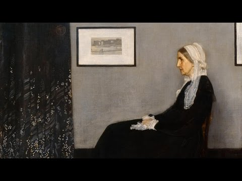 Portrait of the artist's mother by James McNeill Whistler