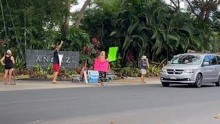Temptation Island Protestors