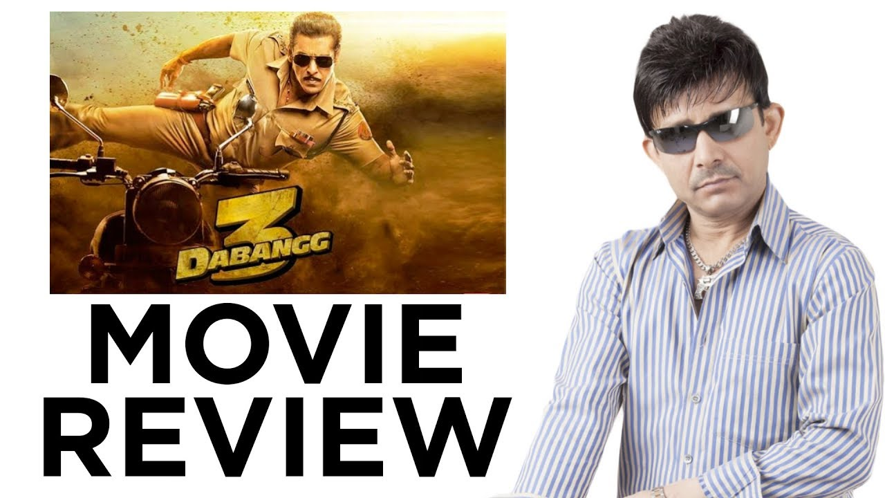 Dabangg 3    Review by KRK   Bollywood Movie Reviews   Latest Reviews
