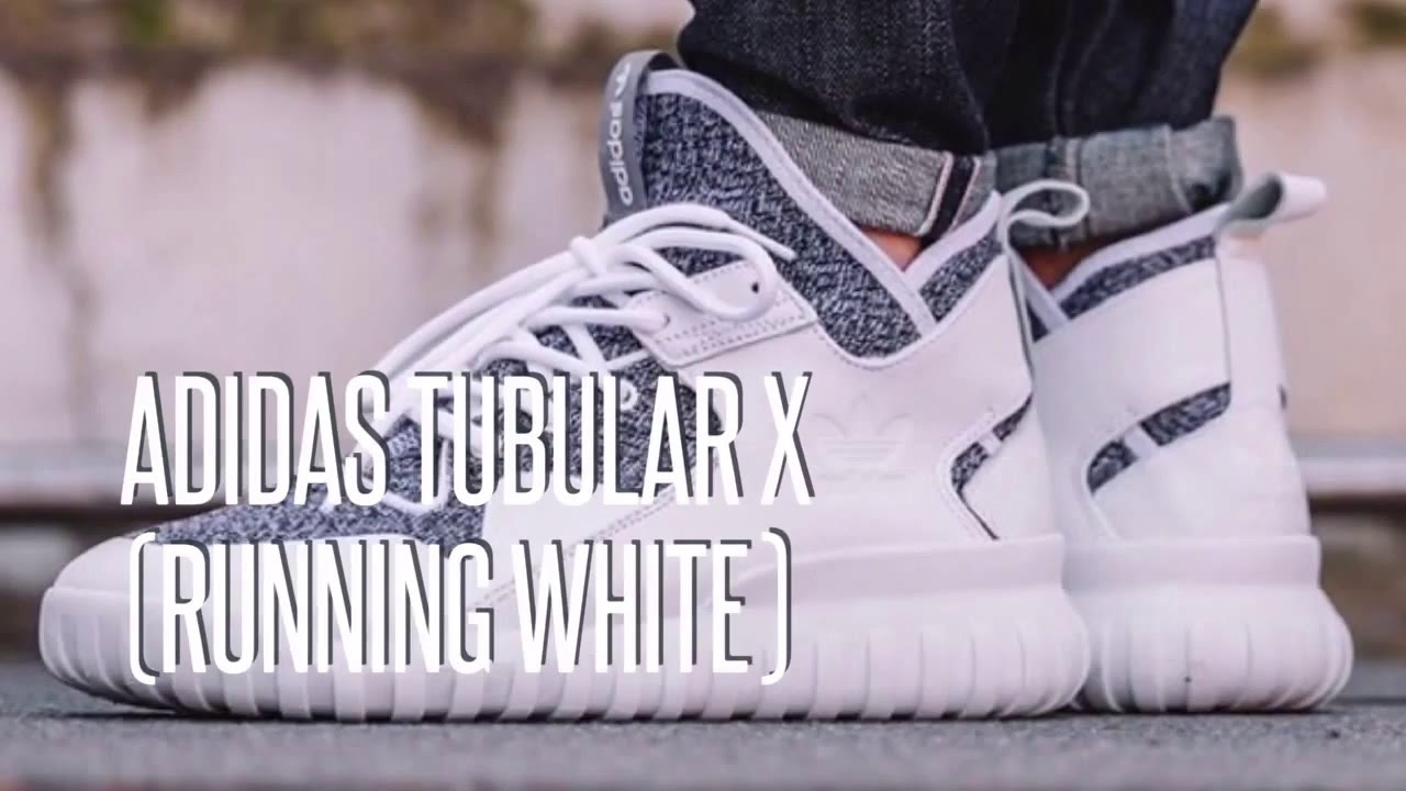 e8785e4f39bc ADIDAS TUBULAR X (RUNNING WHITE)   SNEAKERS STAR - YouTube