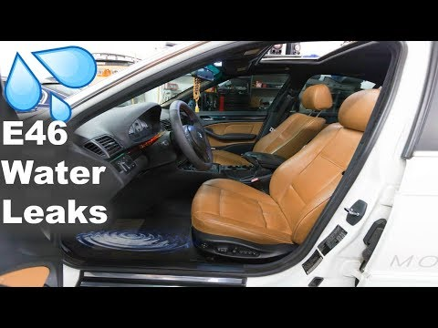 Most Common Interior Water Leaks In Bmw Diagnosing Youtube