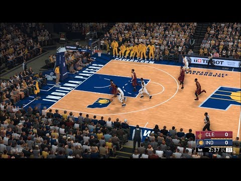 NBA 2K19 - Indiana Pacers vs Cleveland Cavaliers - Gameplay (PC HD) [1080p60FPS]