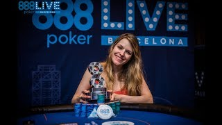 Maria Lampropulos Wins 888poker Live Barcelona High Roller!