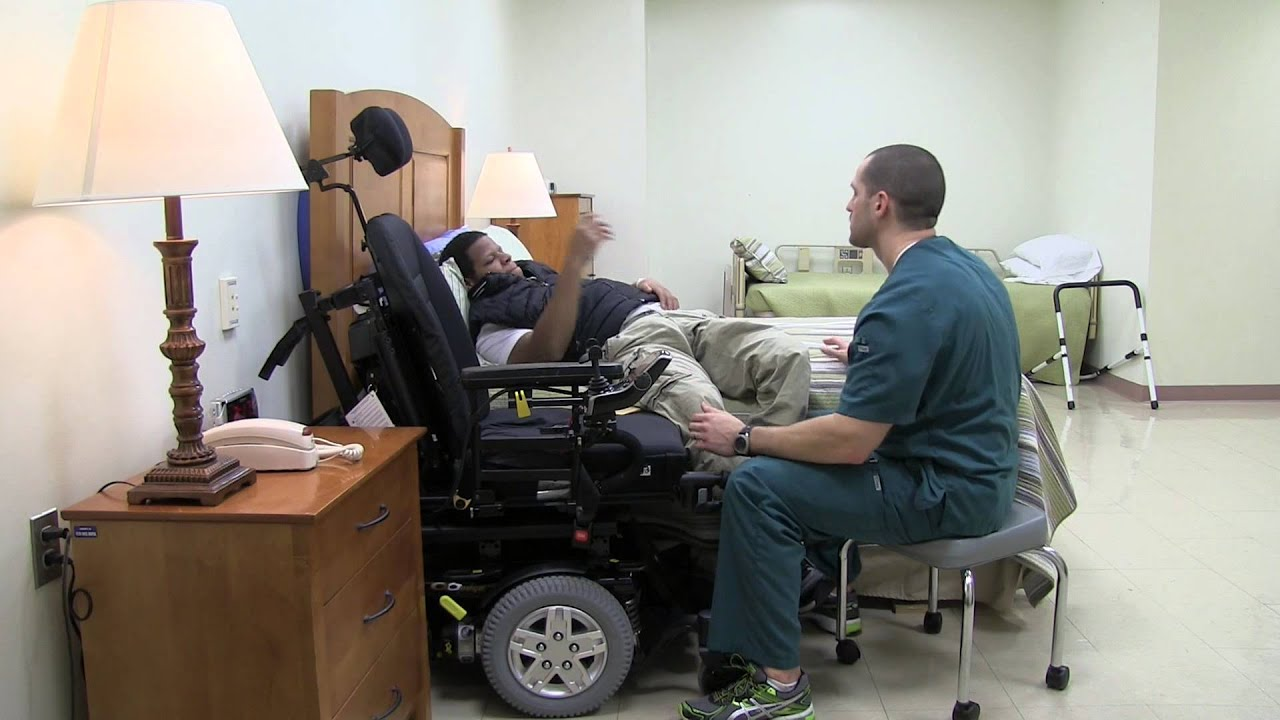 spinal cord wheelchair to bed transfer - youtube