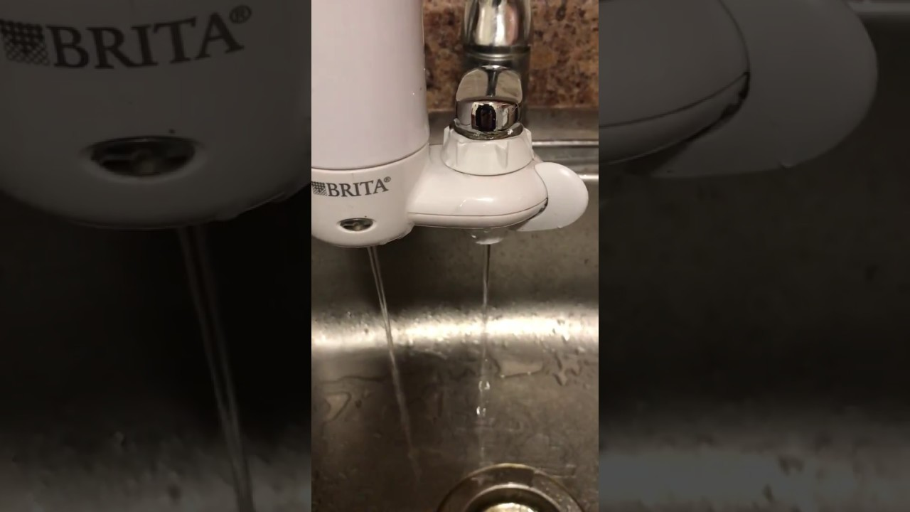 Brita Water Faucet Leaking - YouTube