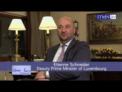 Etienne Schneider, Deputy Prime Minister of Luxembourg, on business with India