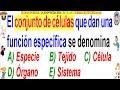 Examen Admisión a la Universidad CALLAO Biología La Célula Solucionario UNAC