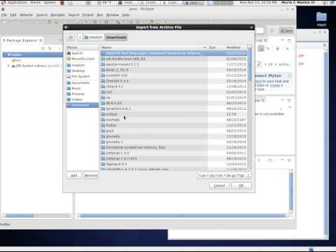 importing a source jar file into eclipse