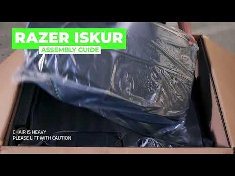 Razer Iskur | Assembly Guide