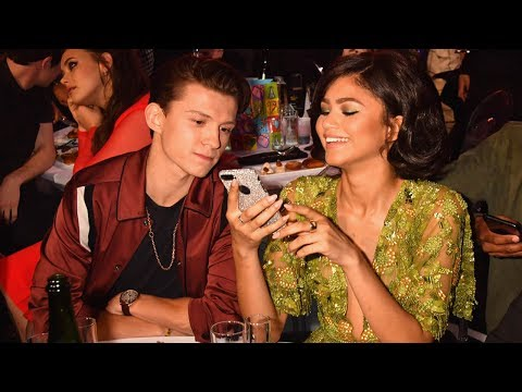 Zendaya Responds to Tom Holland Spider-Man Off-Screen Romance Rumors!