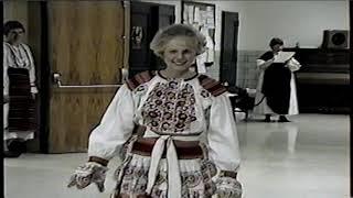 1992 Miami Valley Folk Dancers Fashion Show of Folk Costumes