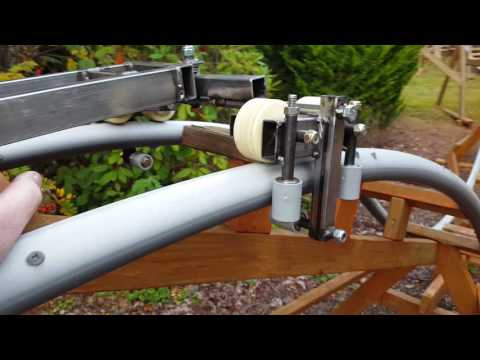 New from Backyard Roller Coaster Research:  BRYC-26 Cart - bogie steering, 14-inch gauge