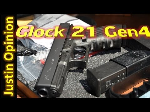 Glock 21 Gen4: Unboxing and first shots