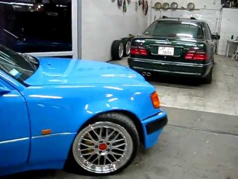mercedes benz w124 500e blue with bbs rims 19 youtube. Black Bedroom Furniture Sets. Home Design Ideas