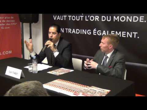 """Conférence: """"L'industrie du Forex et des CFD en 2014"""" par Cyril TABET, PDG de JFD Brokers 2/3"""