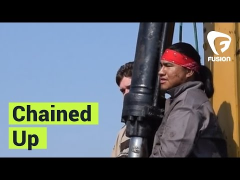 Native Activist Chains Himself Over Dakota Access Pipeline