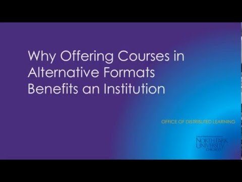 Distance Learning at North Park University