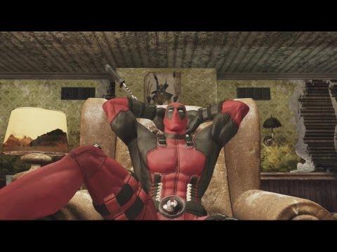 Deadpool - All cinematics and cutscenes