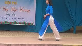 cuộc thi nét đẹp nữ sinh Trường THPT Tam Quan (P2)- KHỐI 10