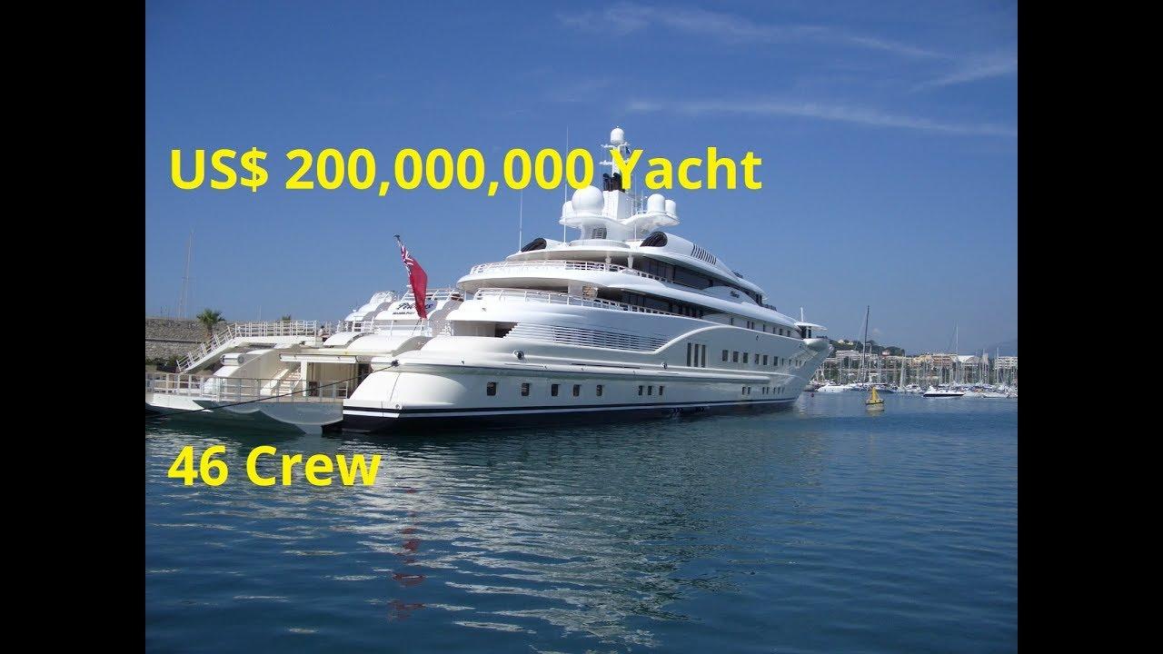 Samuel Tak Lee See His Crazy Us 250 000 000 Pelorus Yacht