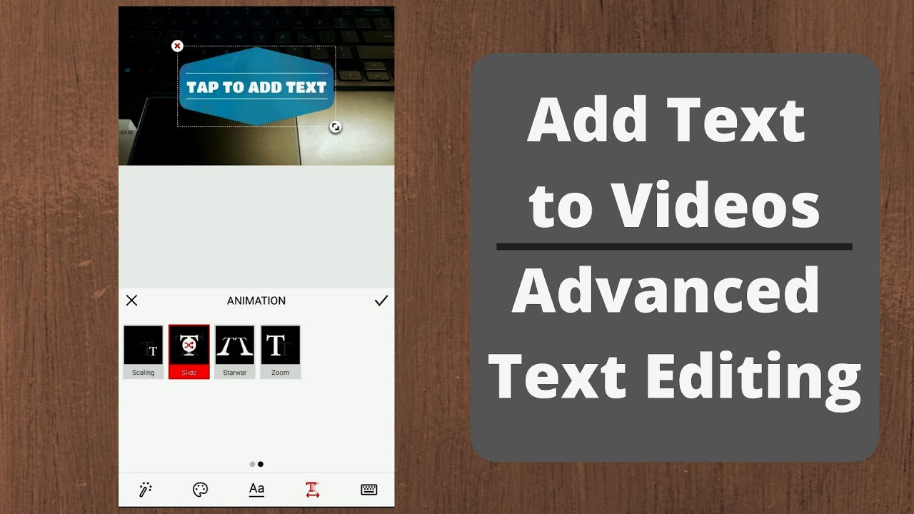 5 Best Apps To Add Text To Videos Android And Ios 2020 Youtube