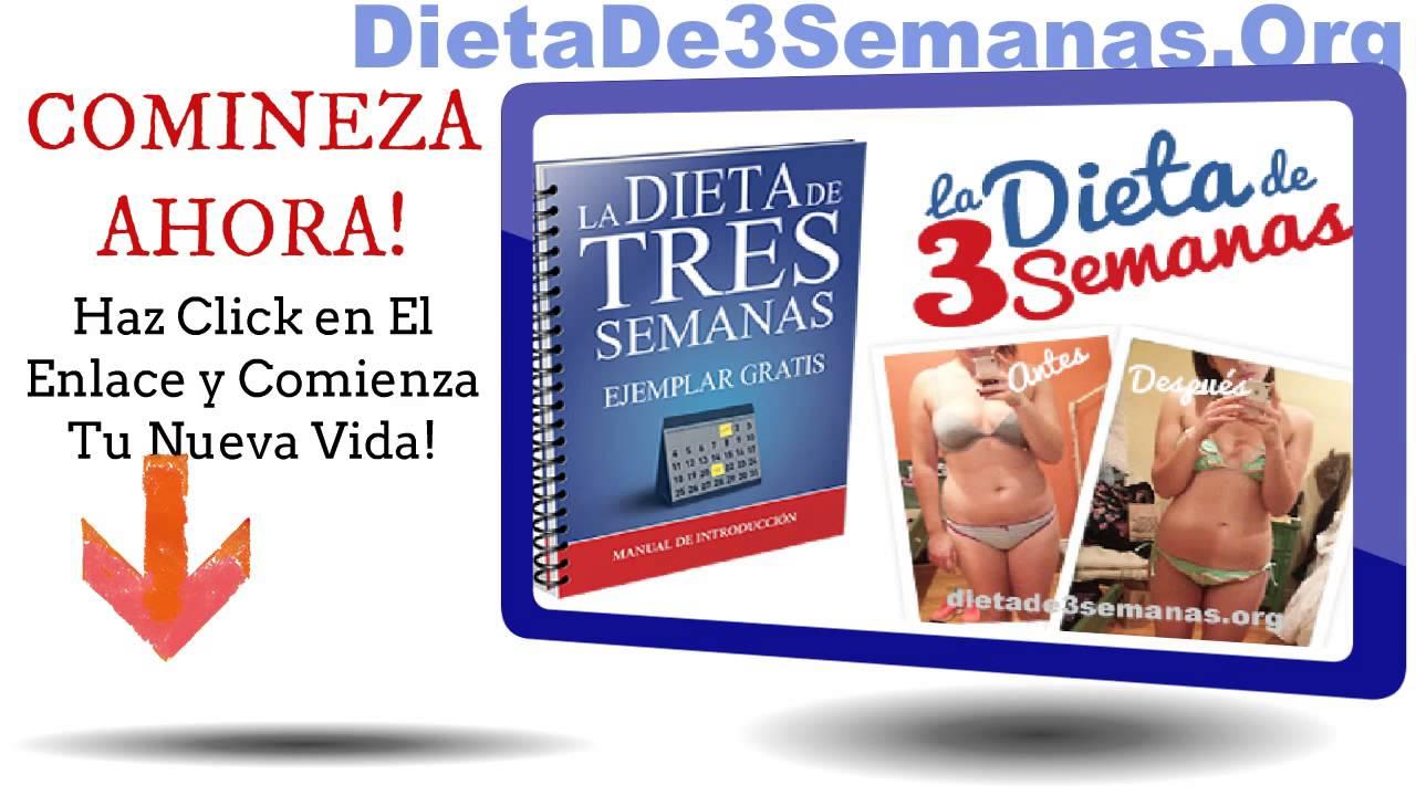 Dieta de 3 semanas gratis